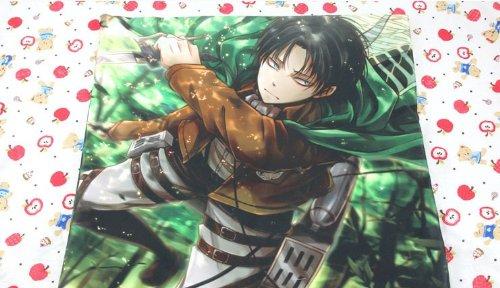 Amazon.com: Anime japonés Attack on Titan almohada Levi ...