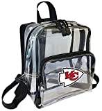 The Northwest Company Officially Licensed NFL Kansas City Chiefs X-Ray Mini Transparent Backpack, Black, 9″