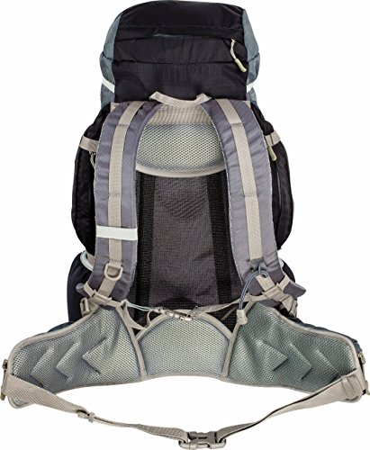 Travel Shoulder Rucksack Pack Back Black Bag Camping Highlander Day Backpack 40L Cover Travel gw4aq