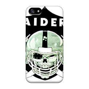 Pretty PJs2530UFpo Iphone 5/5s Case Cover/ Oakland Raiders Series High Quality Case