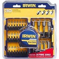 Irwin 30-Pc. Screwdriver Set w/Tape Measure