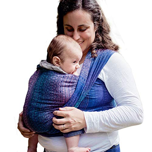 DIDYMOS Woven Wrap Baby Carrier Prima Sole Occidente Organic Cotton , Size 7