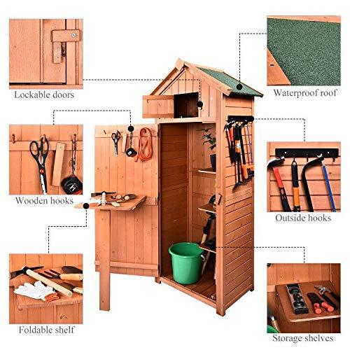 B BAIJIAWEI Garden Storage Shed