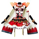 Costhat Love Live!Aqours yoshiko Tsushima Autumn Viewing Cosplay Costume Kimono Dress