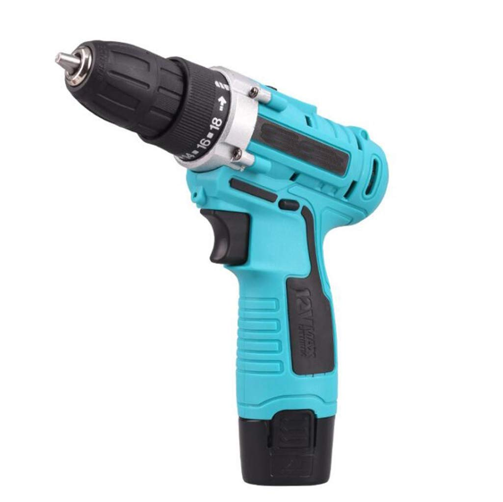 GHGJU Electric Drill Rechargeable Hand Drill Electric Screwdriver Mini Electric Drill Household Combination Tool can be Used for Home Decoration by GHGJU