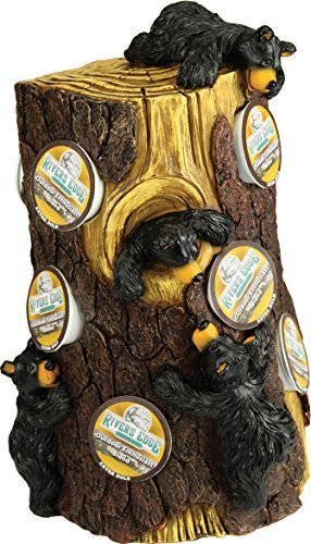 Bears Pine Tree K-Cup coffee pod holders by River's Edge Products