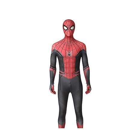 HYYSH Traje de Cosplay de Spiderman Pantalones Deportivos ...
