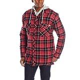 Dickies Men's Quilted Faux Fleece Jacket