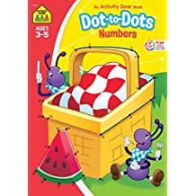 Dot-to-Dot Numbers: Activity Zone Workbooks