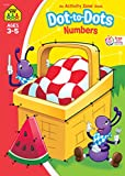 img - for Dot-to-Dot Numbers Activity Zone Workbook (Ages 3-5) book / textbook / text book