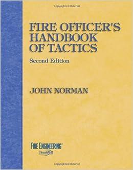 Book Fire Officers Handbook of Tactics
