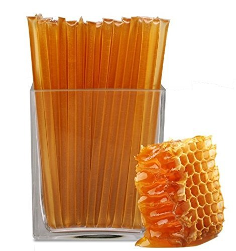 Floral Honeystix - Clover - 100% Honey - 100 Stix - Honey Sticks]()