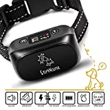 [NEW 2019] Humane Bark collar-Dog bark Collar-Anti Barking Collar Small Dogs Medium Large Dogs-Rechargeable Waterproof Anti bark Collar-No bark Collars Sound Warning Vibration Electric Stimulation For Sale