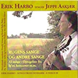 Erik Harbo Rugens Sange 32 Sange af Jeppe Aakjær