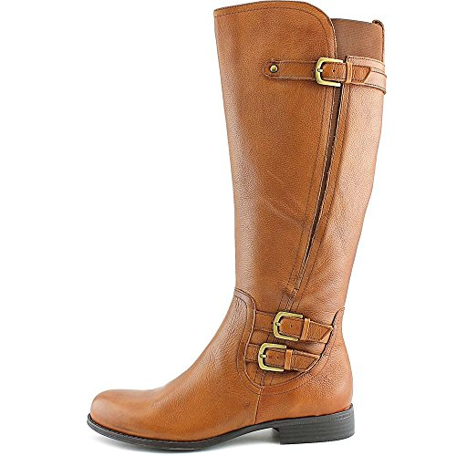 Calf Naturalizer Riding BANBRD Mid Womens Leather Toe Closed Jenson Boots YwxY0rqa