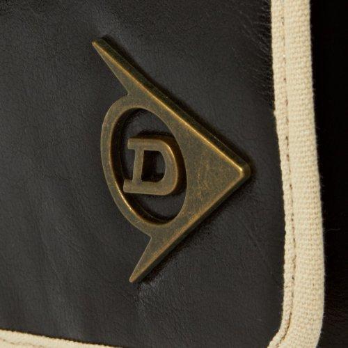 Dunlop Bolso clásico mensajero, colornegro/crudo