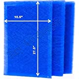 MicroPower Guard Replacement Filter Pads 12x30 Refills (3 Pack) BLUE