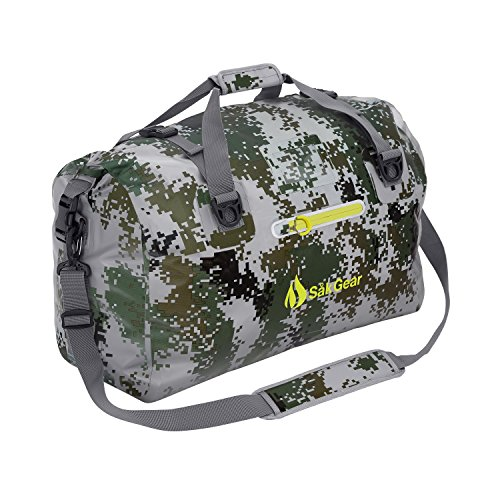 DuffelSak Waterproof Duffel Bag (DigiCamo 60L)