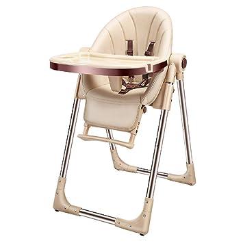 Trona para niños ajustable y plegable bandeja desmontable (fácil ...