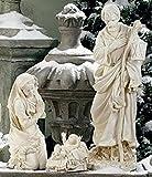 Roman 3-Piece Joseph's Studio Holy Family Outdoor Christmas Nativity Set