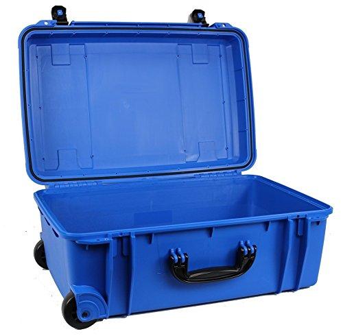 Large防水ケース、Wheeled、空( c.a.r.g.o. cg-221308 ) - (ブルー)   B074WHQRQL