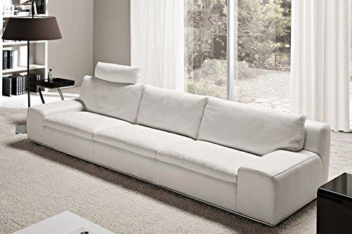 Calia maddalena divano in pelle home pelle spessorata for Divano letto amazon