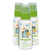 Babyganics Stain Eraser Marker, 2oz, On-The-Go (Pack of 3), Packaging May Vary