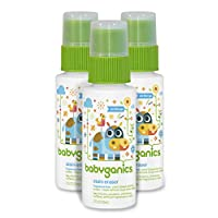 Babyganics Stain Eraser Marker, 2oz, On-The-Go (Pack of 3), Packaging May Var...