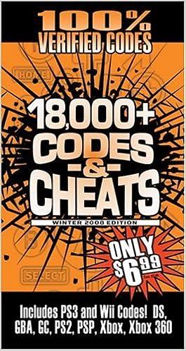 Codes & Cheats Winter 2008 (100% Verifed Codes): Prima Games ...