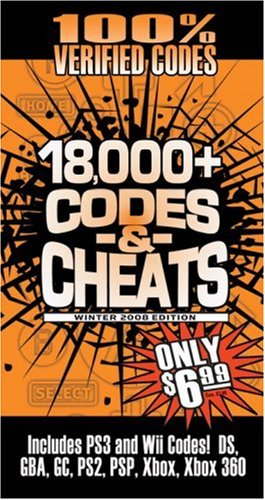 Read Online Codes & Cheats Winter 2008 (100% Verifed Codes): Prima Games Code Book (Codes & Cheats) (Codes & Cheats: Prima Official Game Guide) PDF