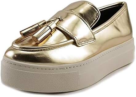 Aldo Narcissa Round Toe Patent Leather Loafer
