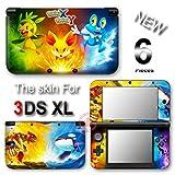 Pokemon X Y XY Popular New VINYL SKIN STICKER DECAL COVER #2 for Nintendo 3DS XL