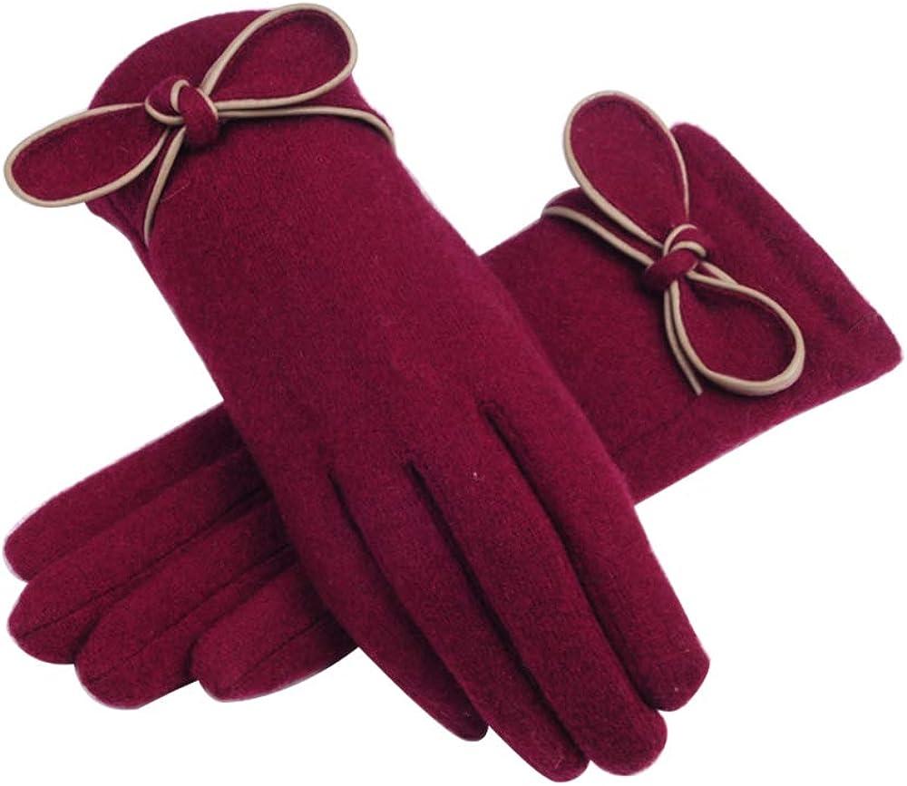 Lenikis Women's Bow Winter...
