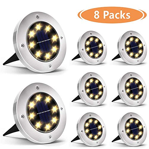 Outdoor Solar Led Puck Lights in US - 1