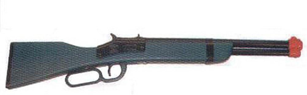 B0007U7NY4 Paris Minature Saddle Gun, Wood & Steel, Fires Roll Caps, Bulk, Color Red or Blue 51DhZmhKUzL