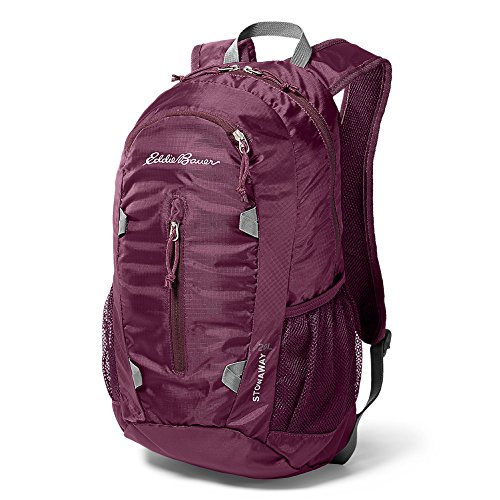 Eddie Bauer Unisex-Adult Stowaway Packable 20L Daypack, Dk Violet Regular ONESZE