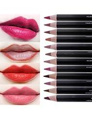CCbeauty 12pcs Women's Professional Makeup Lip liner...