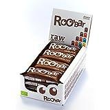 ROO'BAR Kakao & Cashew (ohne Nibs) - 16 Stück (16x 50g) - Rohkost-Riegel mit Superfoods (bio, vegan, glutenfrei, roh)
