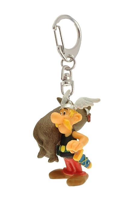Llavero figura Plastoy Astérix llevando un jabalí 60383 (2015)
