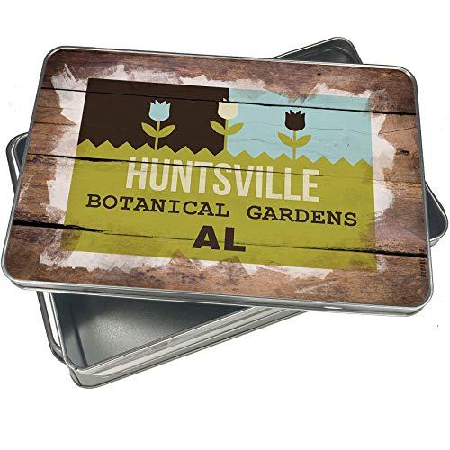 NEONBLOND Cookie Box US Gardens Huntsville Botanical Gardens - AL Christmas Metal Container ()
