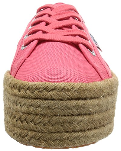 Superga 2790 Cotropew, Sneakers Basses Femme - Rose - Pink (Paradise Pink) - 38