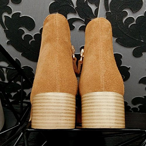 Mila 90 Women Tempo In Testa Elastiche Stivali Nsxz Centimetri 16 Libero Stivali Rotonda 's Pelle Cammello Martin O8qOZw