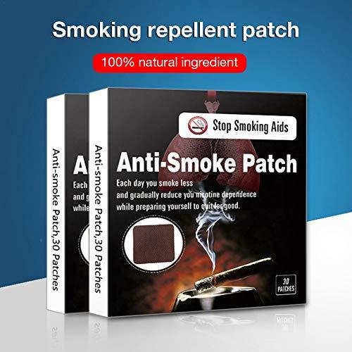 AIMERKUP Smoking Cessation Tablets, 30PCS Control Smoking Cessation Products, Healthy Life, Smoking Cessation Stickers Pretty