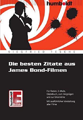Amazon Com Die Besten Zitate Aus James Bond Filmen Für