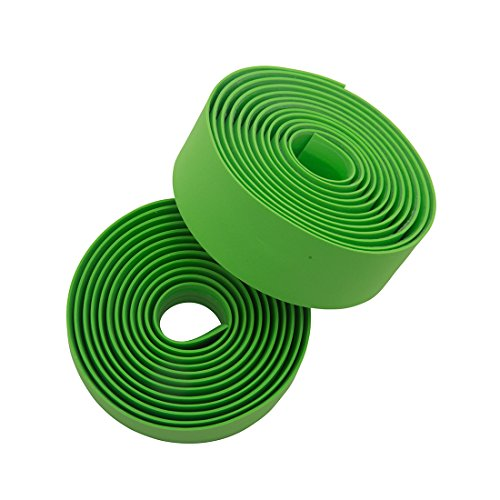 Bicycle Handlebar Tape - Planet Bike Comfort Cork handlebar tape (bright green)