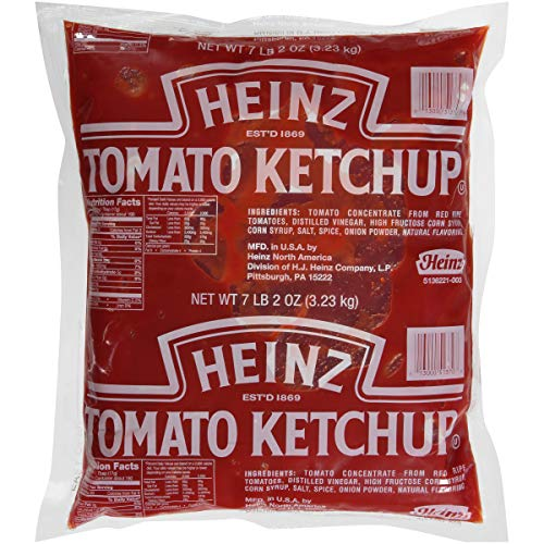 Heinz Tomato Ketchup Pouch (7.1L Bags, Pack of ()