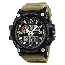 Timewear Military Series Analogue Digital Black Dial Watch