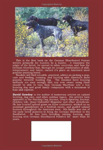 The German Shorthaired Pointer: a Hunter's Guide