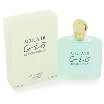 Amazoncom Acqua Di Gio By Giorgio Armani For Women Eau De