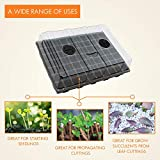 Gardzen 5-Set Garden Propagator Sets, Smiling Face
